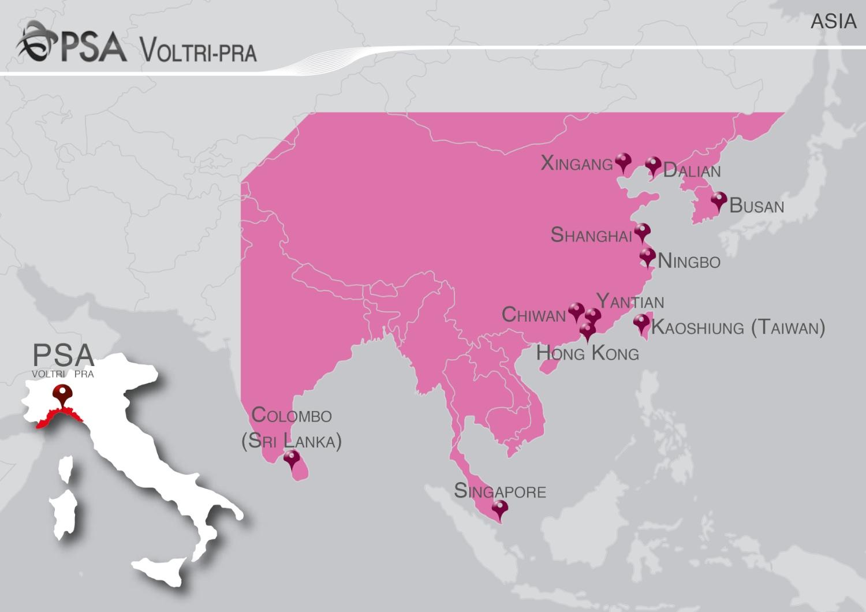 Italia Asia Connessioni Marittime