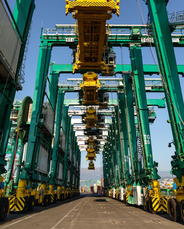 Electric Cranes Voltri Pra Terminal