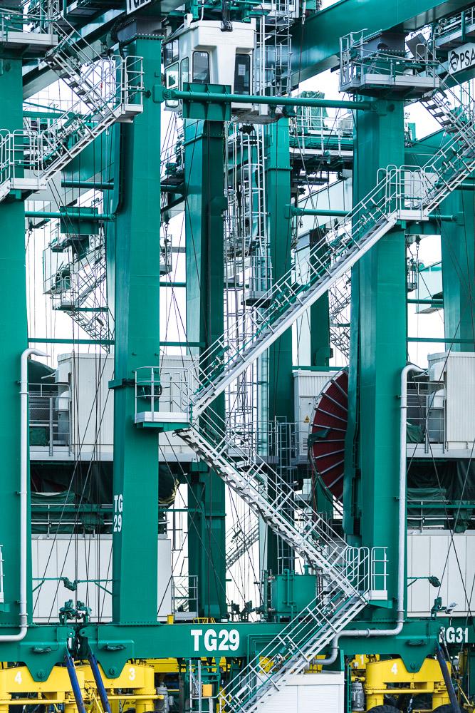 Electric Gantry Cranes PSA Voltri Pra