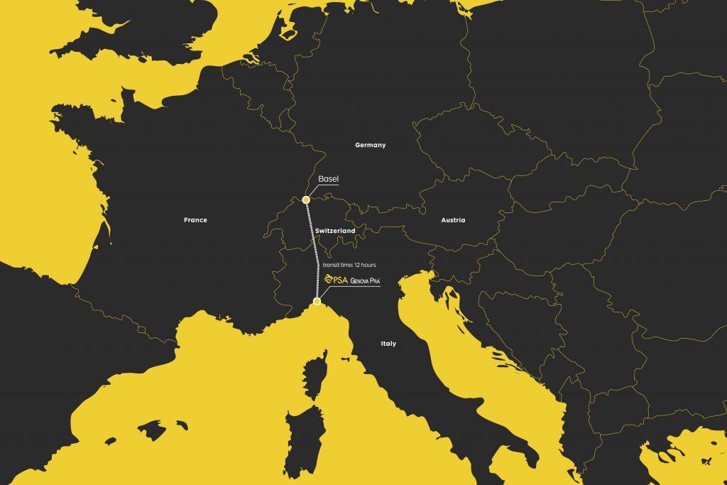 Connessione ferroviaria diretta Genova Basilea