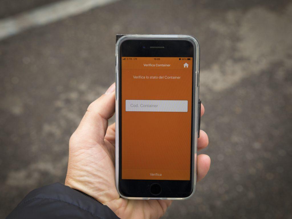 App per autotrasporo PSA Genova Pra'