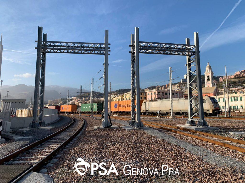 Doppio binarioPsa Genova Pra'