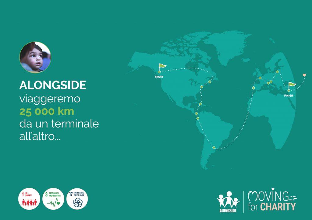 Moving for charity PSA Genova Pra' e SECH